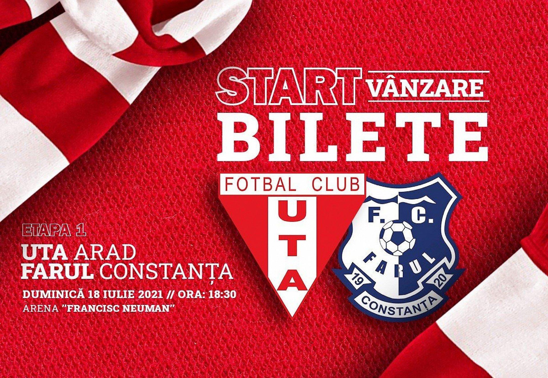Imagine Start vânzare bilete pentru meciul cu Farul Constanța!