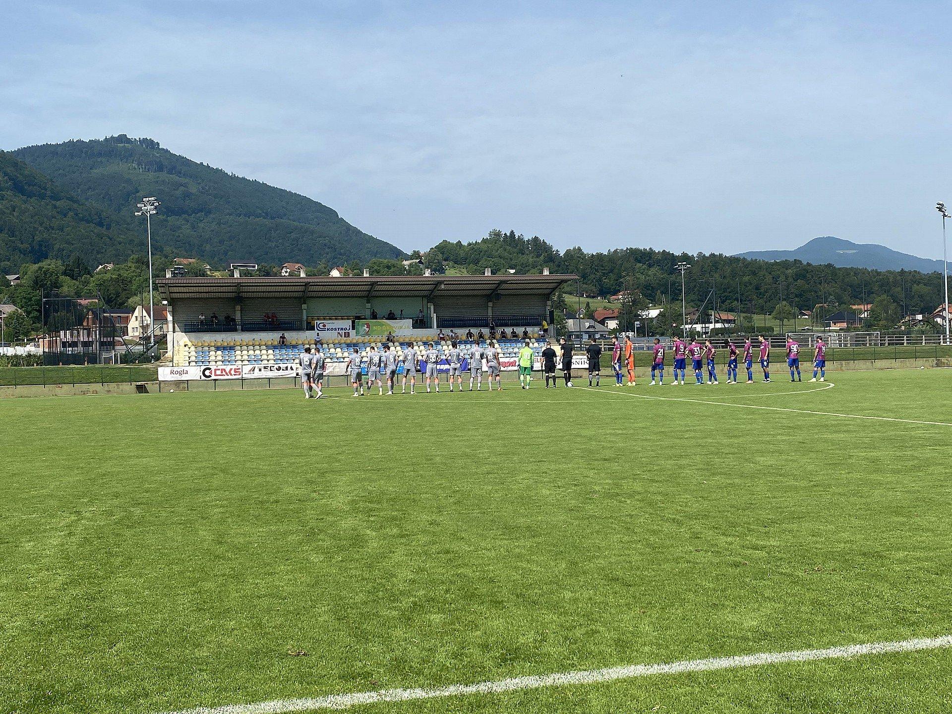 Imagine Eșec la ultima repetiție din Slovenia!