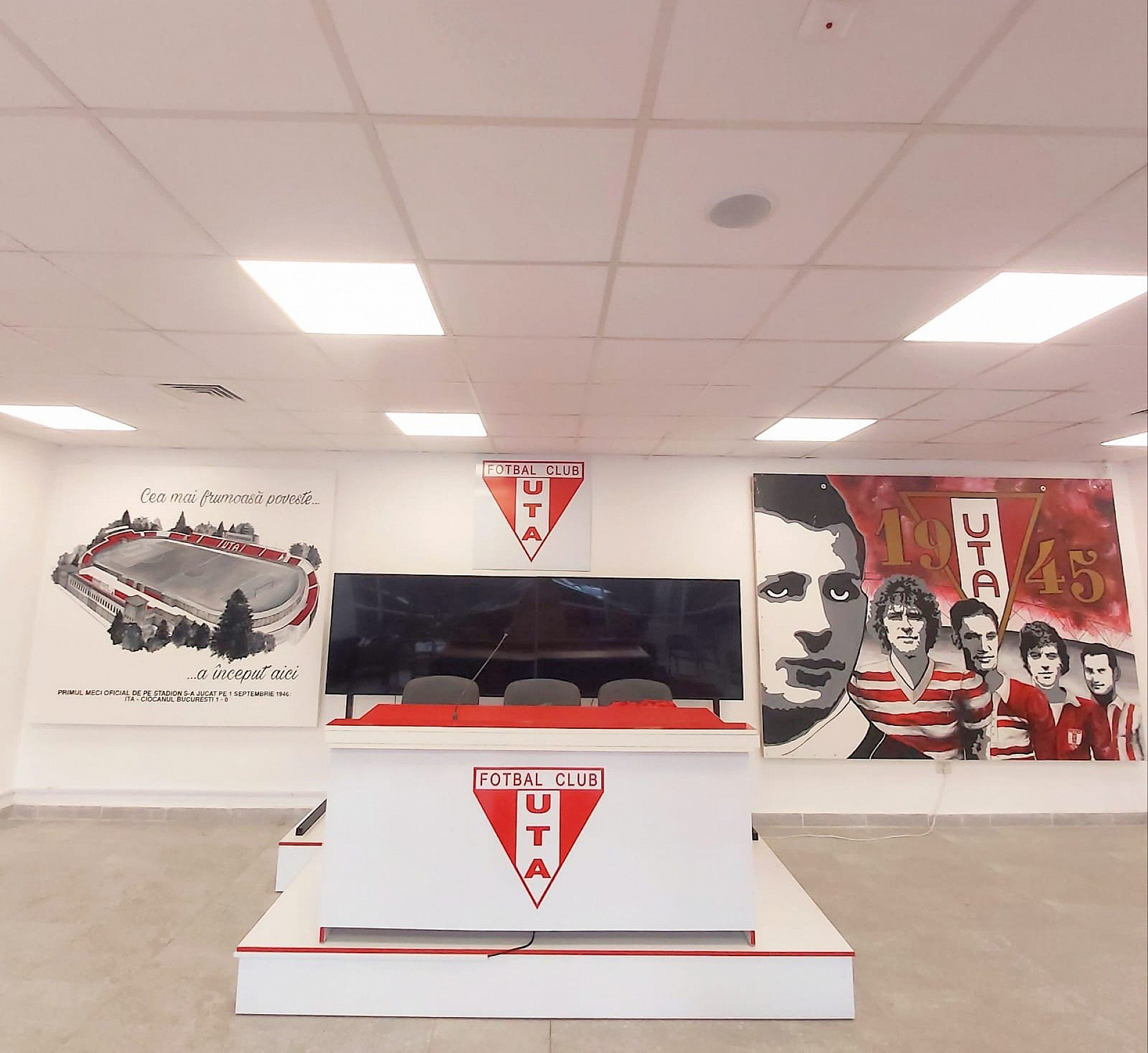 """Imagine Stadionul istoric al echipei, prezent pe noua arenă """"Francisc Neuman""""!"""