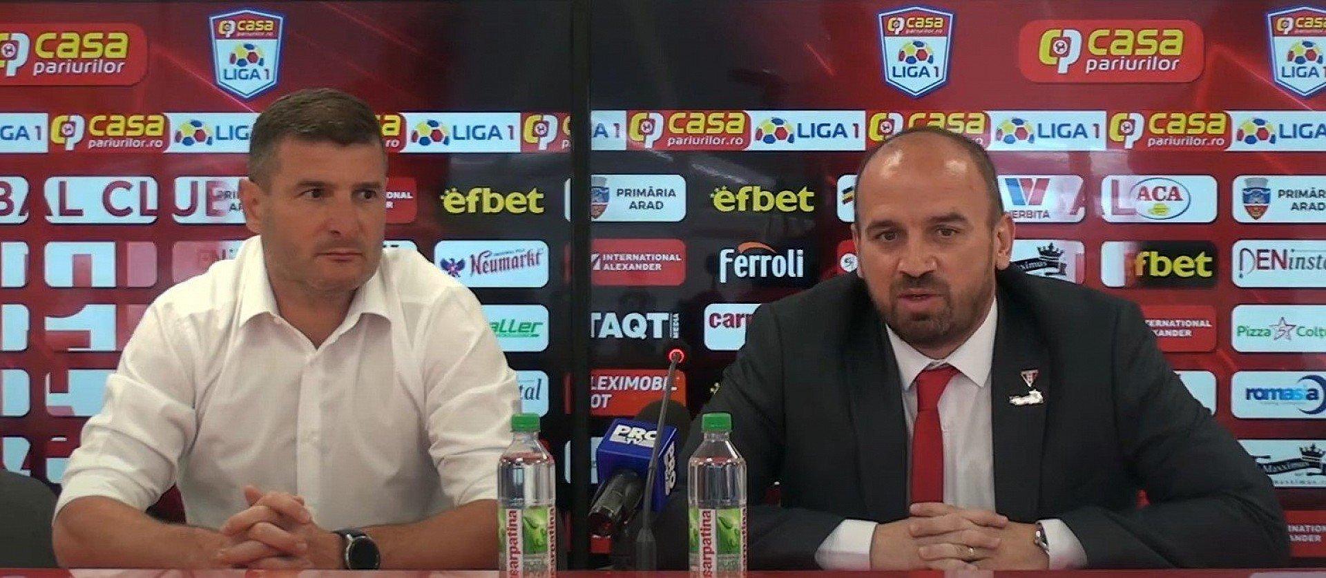 """Imagine Attila Brosovszki: """"Vom face tot posibilul să urcăm, să creștem ca și club"""""""