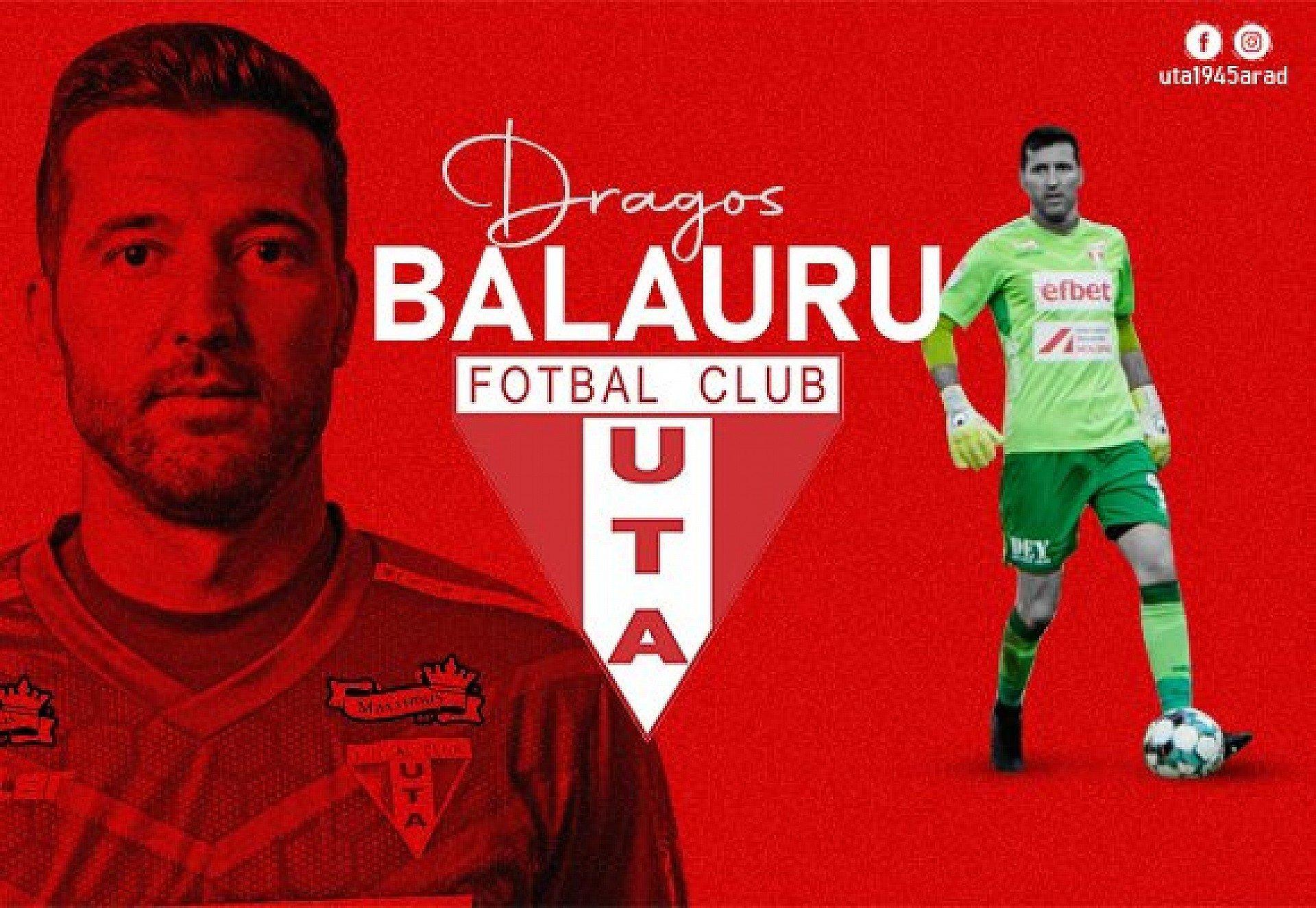 Imagine Dragoș Balauru și-a prelungit contractul cu UTA!