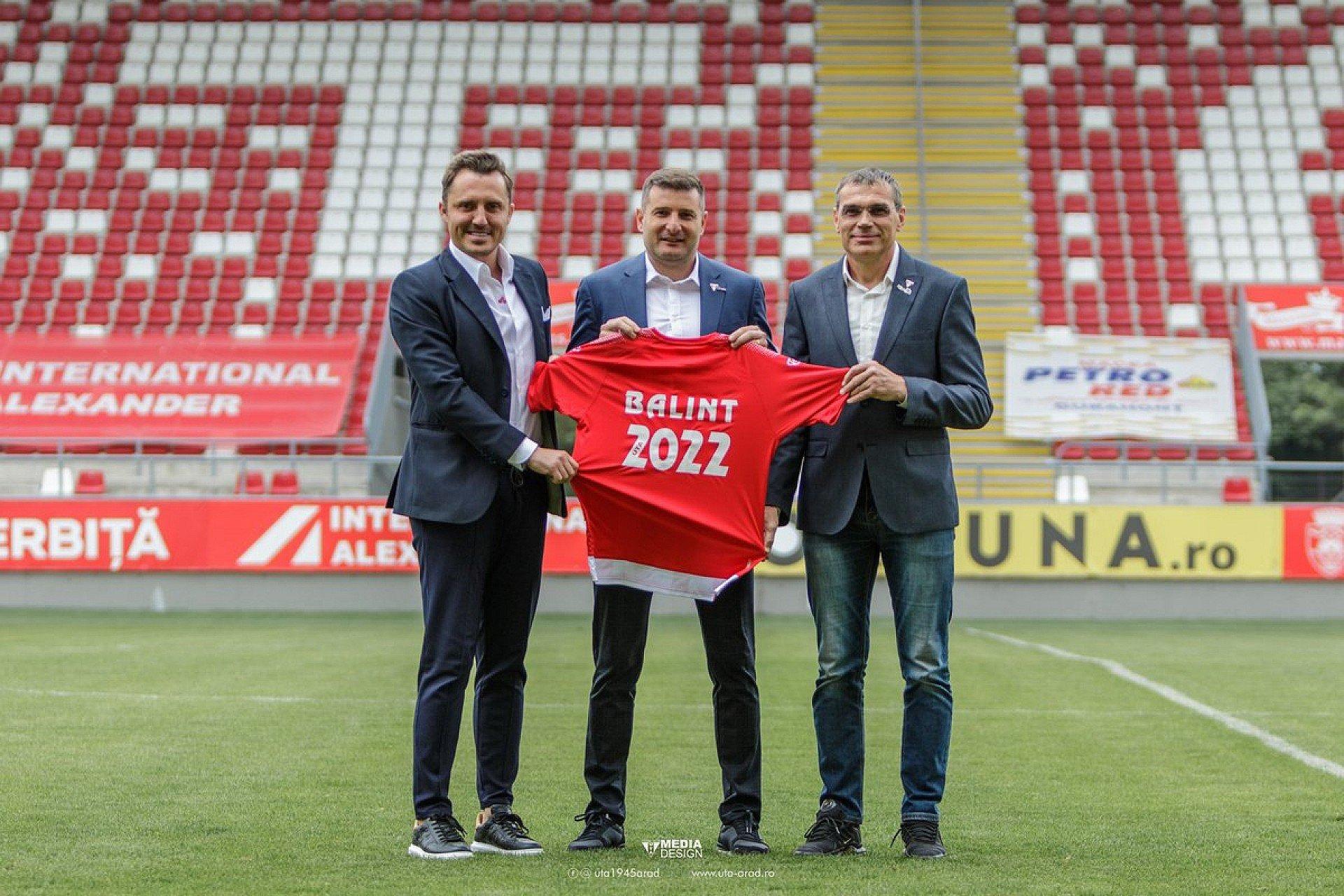 Imagine Laszlo Balint a semnat un contract cu UTA și pentru sezonul următor