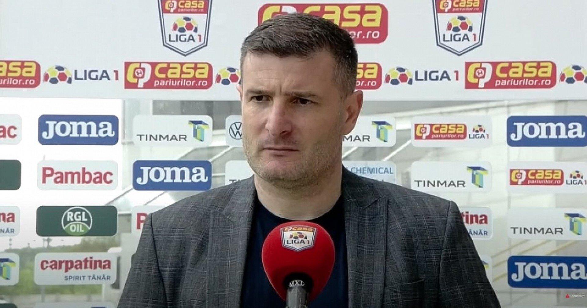 Imagine Reacția lui Laszlo Balint după succesul cu Astra