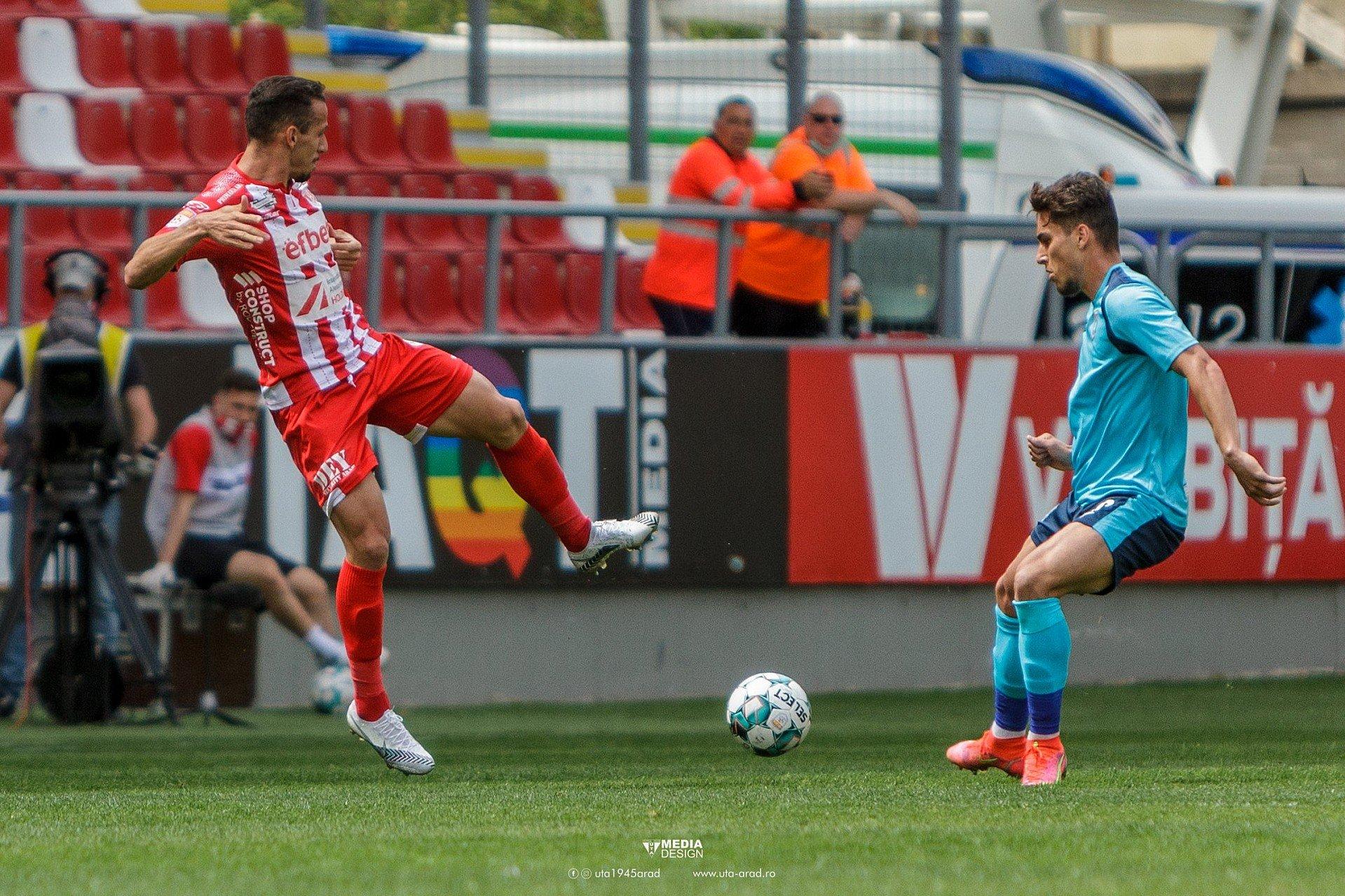 Imagine FOTO / Play-out Liga 1 / UTA - Chindia