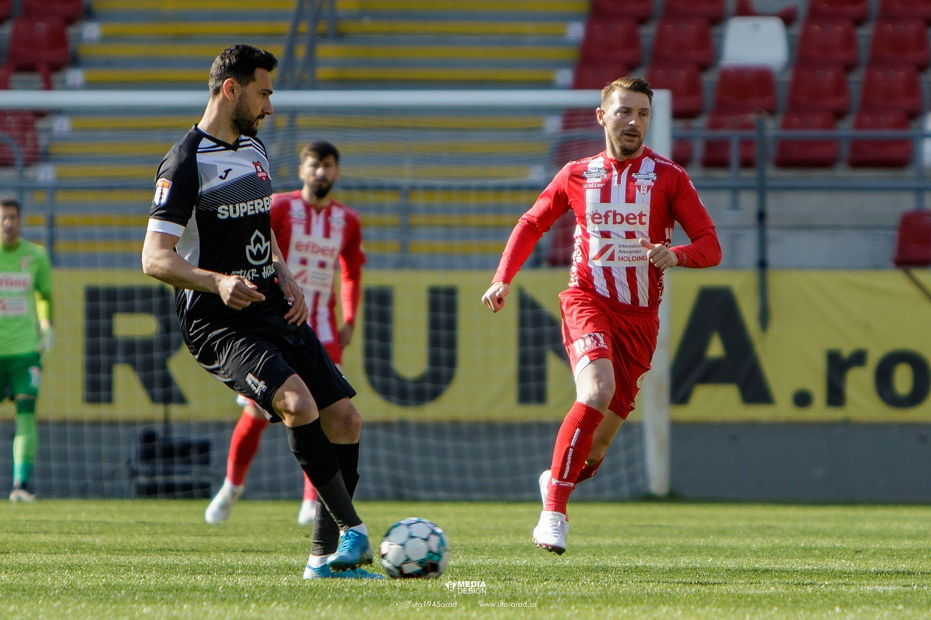 Imagine FOTO / Play-out Liga 1 / UTA - Hermannstadt