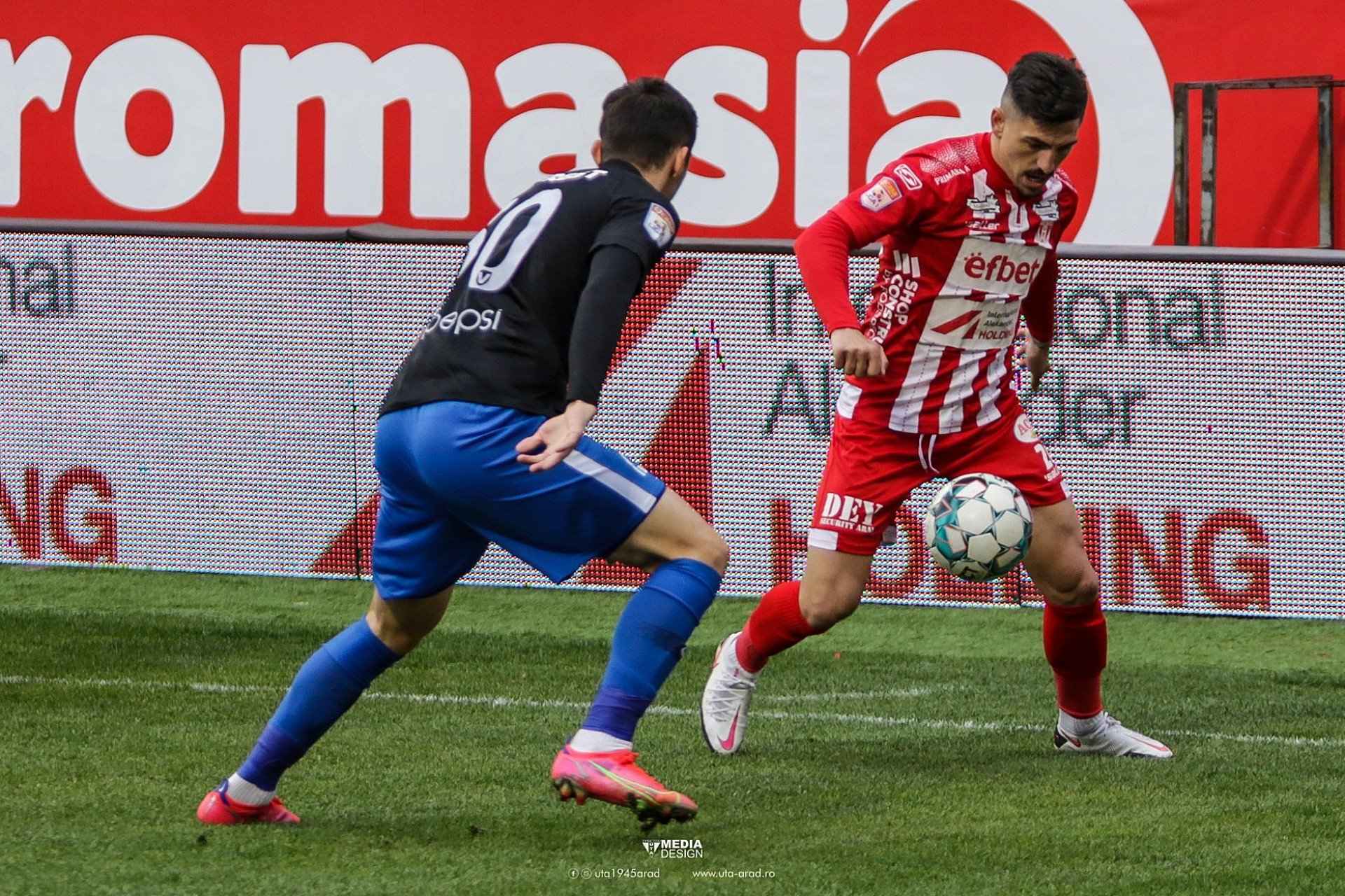 Imagine FOTO / Play-out Liga 1 / UTA - Viitorul