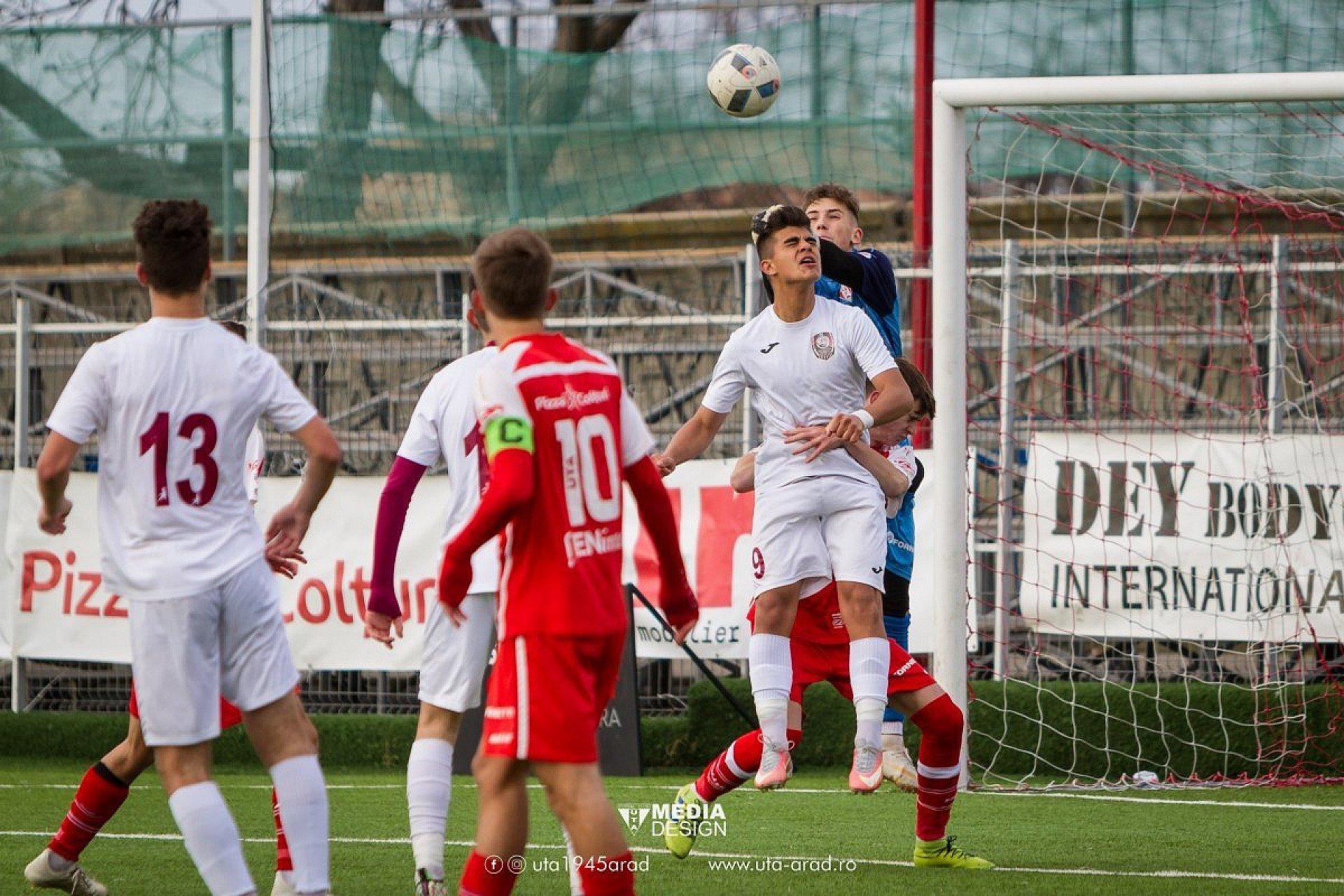 Imagine S-a reluat Liga Elitelor. Utiștii au avut meciuri la CFR Cluj