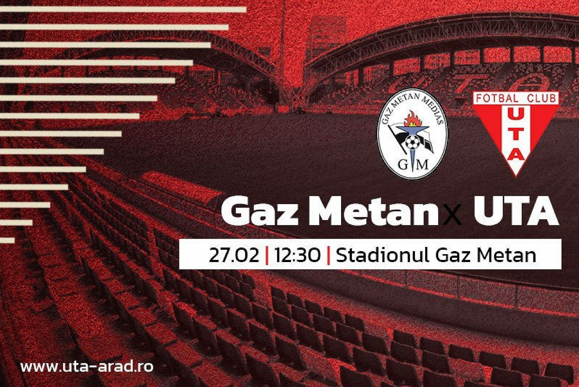 """Imagine Mâine, Gaz Metan Mediaș – UTA: """"Un singur gând, să obținem toate punctele"""""""