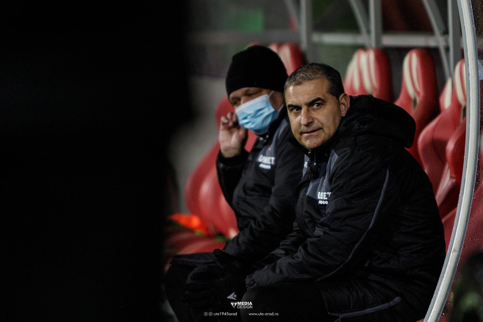 Imagine FOTO / LIGA 1 / UTA - Dinamo