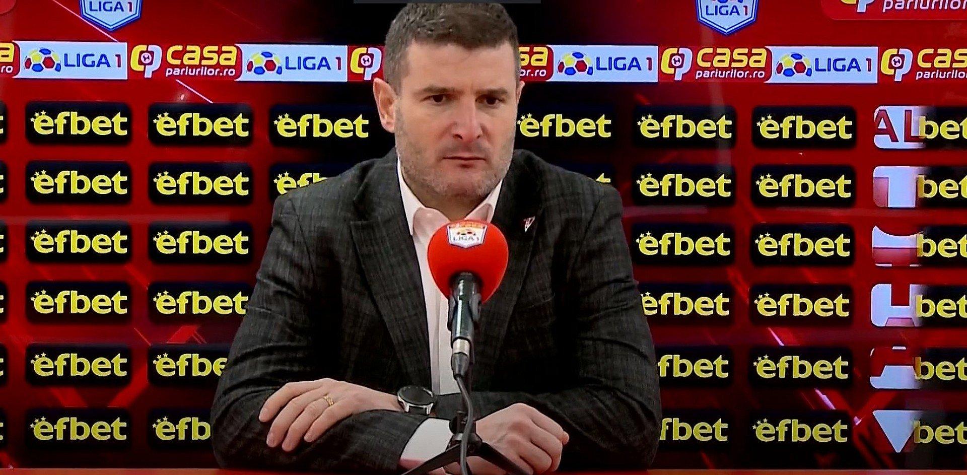 Imagine Reacția lui Laszlo Balint după UTA - U Craiova