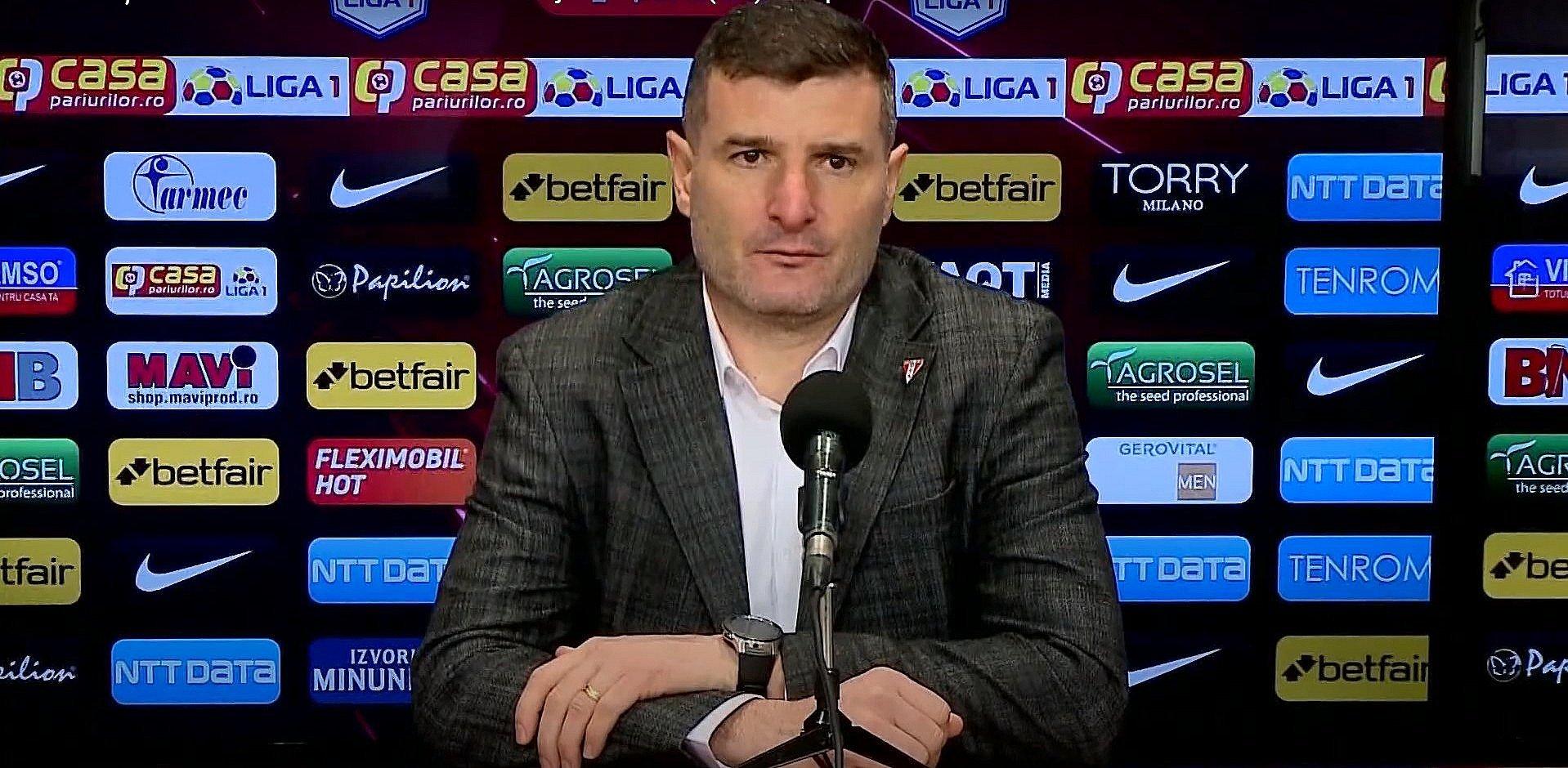 Imagine VIDEO / Laszlo Balint, după victoria de la CFR Cluj