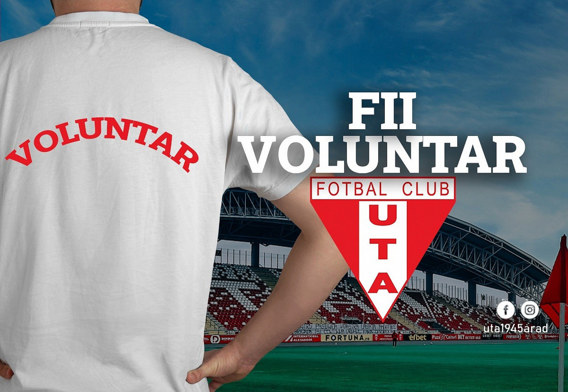 Imagine Fii voluntar UTA!
